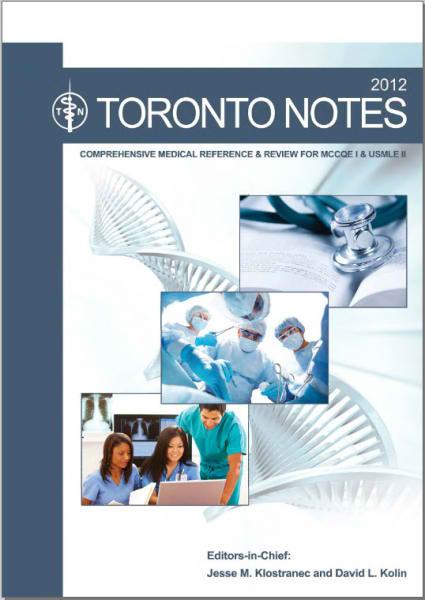 Toronto Notes 2012