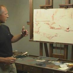 آموزش نقاشی منظره های بزرگ