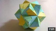 آموزش ساخت اشکال هندسی با کاغذ اریگامی