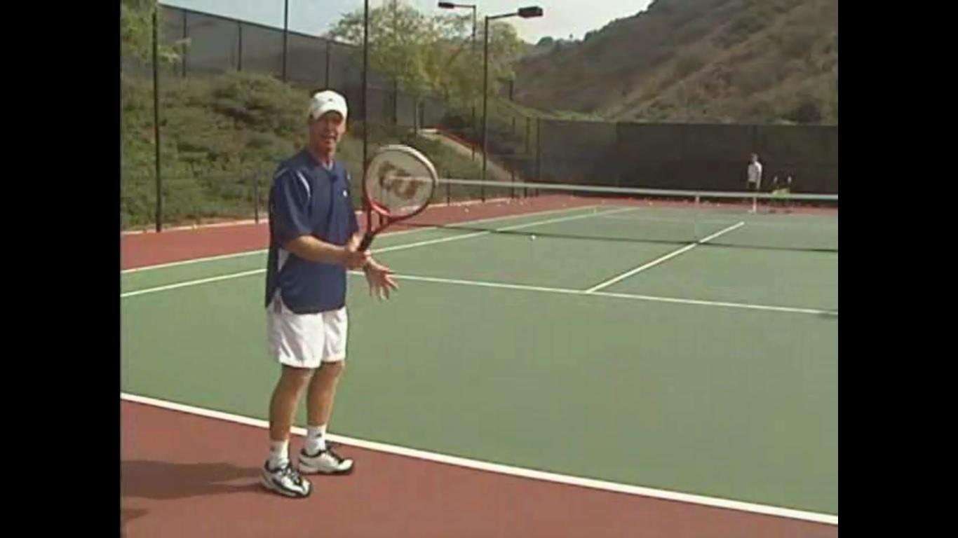 آموزش تنیس توط جیمز جنسن