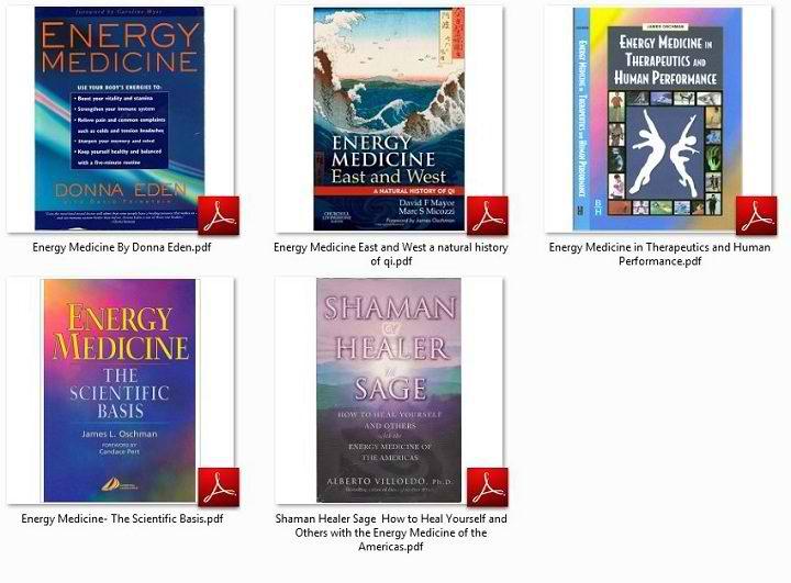 کتاب های آموزشی انرژی درمانی