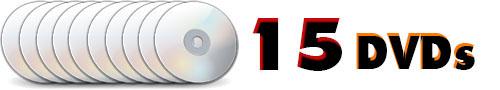 در 15 دی وی دی با کیفیت
