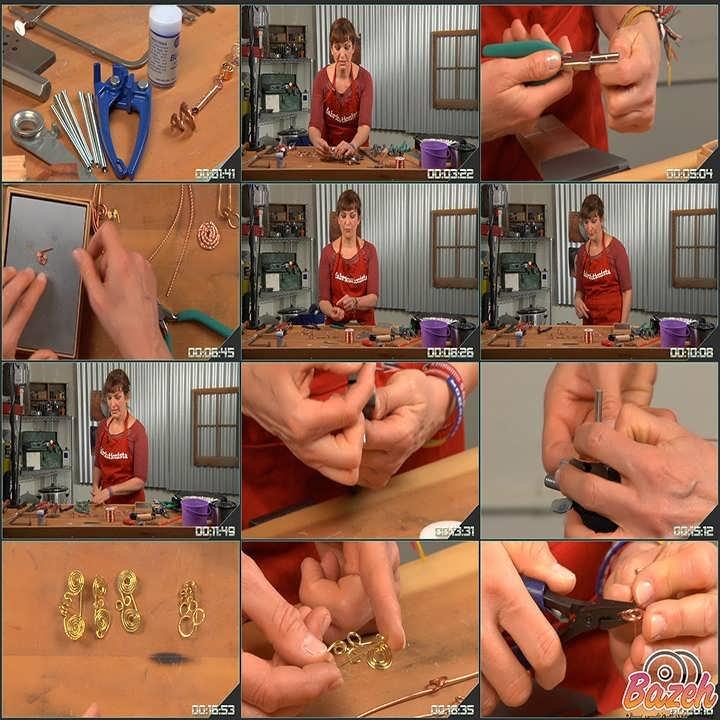 آموزش ساخت دایره و منحنی در جواهرسازی