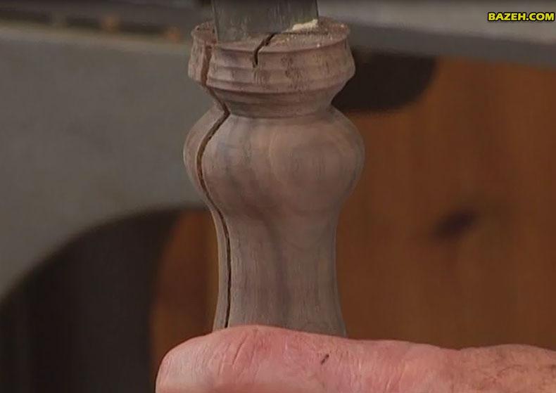 تکنیک های خراطی چوب