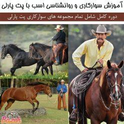 آموزش سوارکاری و روانشناسی اسب با پت پارلی